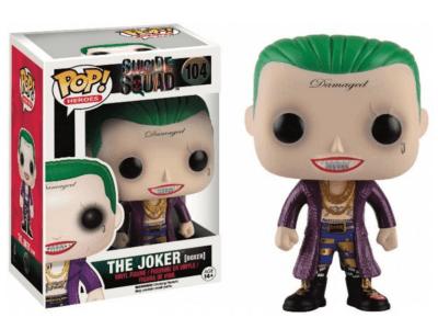 POP, Figura de Vinilo Coleccionable, Suicide Squad, the Joker (Boxer), Nº104