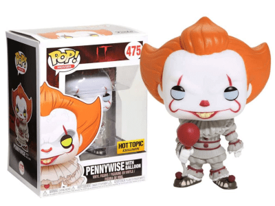POP, Figura de Vinilo Coleccionable, IT, Pennywise with Ballon, Nº475