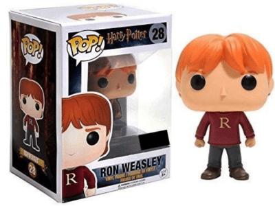 POP, Figura de Vinilo Coleccionable, Harry Potter, Ron Weasley, Nº28