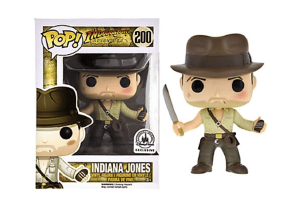 POP, Figura de Vinilo Coleccionable, Indiana Jones, Indiana jones, Nº200