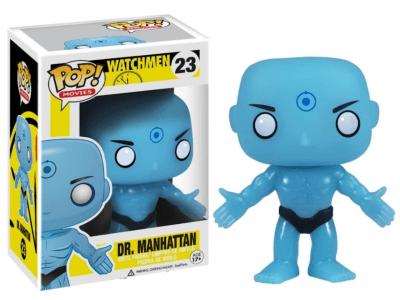 POP, Figura de Vinilo Coleccionable, Watchmen, Dr. Mahattan, Nº23