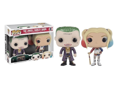 POP, Figura de Vinilo Coleccionable, Suicide Squad, The Joker and Harley Quinn (Big), Nº2