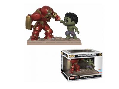 POP, Figura de Vinilo Coleccionable, Marvel, Hulkbuster vs Hulk (Big), Nº394