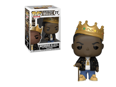 POP, Figura de Vinilo Coleccionable, The Notorious BIG, Notorious B.I.G. With Grown, Nº77