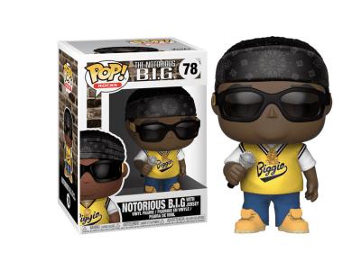 POP, Figura de Vinilo Coleccionable, The Notorious BIG, Notorious B.I.G. With Jersey, Nº78