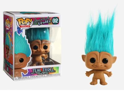 POP, Figura de Vinilo Coleccionable, Trolls, Teal Troll, Nº02