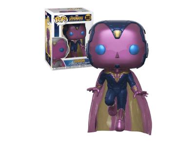 POP, Figura de Vinilo Coleccionable, Marvel, Vision, Nº307