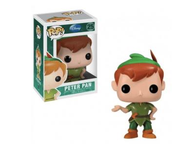 POP, Figura de Vinilo Coleccionable, Disney, Peter Pan, Nº25