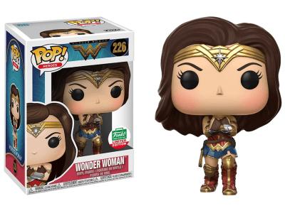 POP, Figura de Vinilo Coleccionable, Super Heroes DC, Wonder Woman, Nº226