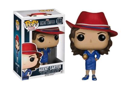 POP, Figura de Vinilo Coleccionable, Marvel, Agent Carter, Nº102