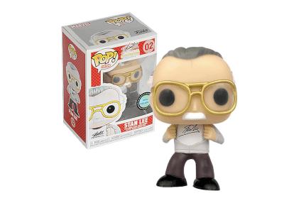 POP, Figura de Vinilo Coleccionable, Marvel, Stan Lee, Nº02