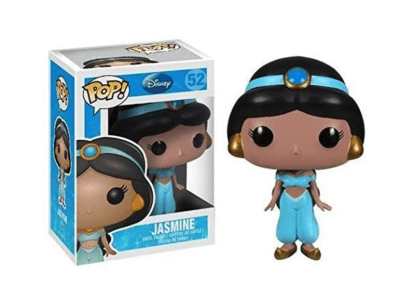 POP, Figura de Vinilo Coleccionable, Disney, Jasmine, Nº52