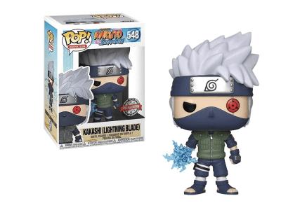 POP, Figura de Vinilo Coleccionable, Naruto, Kakashi, Nº548