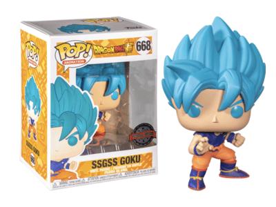 POP, Figura de Vinilo Coleccionable, Dragon Ball Z, Goku (Blue), Nº668