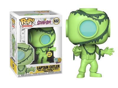 POP, Figura de Vinilo Coleccionable, Sccoby-Doo, Captain Cutler, Nº632