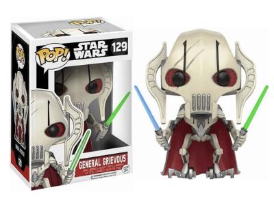 POP, Figura de Vinilo Coleccionable, Star Wars, General Grievous, Nº129
