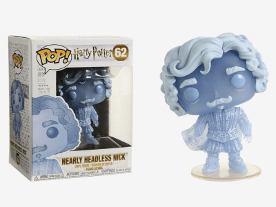 POP, Figura de Vinilo Coleccionable, Harry Potter, Nearly Hedless Nick (Luminescence), NºP-62