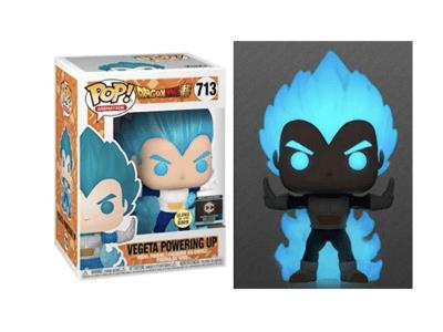 POP, Figura de Vinilo Coleccionable, Dragon Ball Z, Vegeta Powering Up, NºP-713