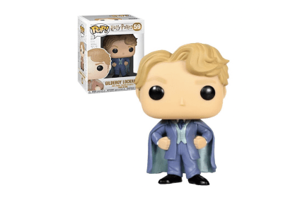 POP, Figura de Vinilo Coleccionable, Harry Potter, Gilderoy Lockhart, Nº59