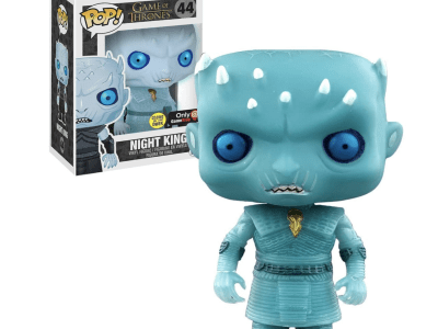 POP, Figura de Vinilo Coleccionable, Game of Thrones, Night King (Electroplate), Nº44