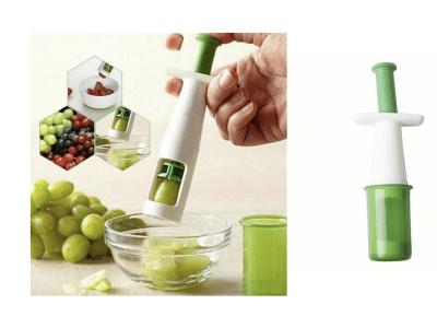 Cortador de uvas, aceitunas y tomates, cortador de frutas / verduras, herramienta de corte creativa