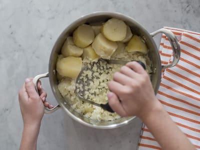 Triturador de patatas y arroz de acero inoxidable de alta calidad