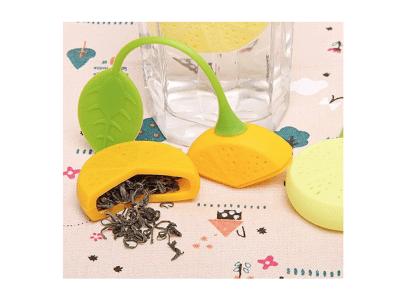 Colador de bolas de té, filtros de té, colador de infusor de té lindo de hojas sueltas para amantes
