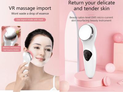 Máquina facial para el cuidado de la piel, limpiador facial, anti envejecimiento y anti arrugas