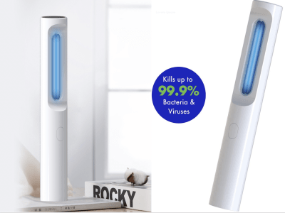 Nueva lámpara germicida portátil UV + ozono, lámpara germicida ultravioleta, lámpara portátil germic