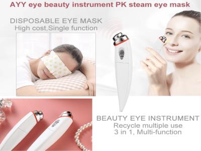 Rodillo de masaje de ojos eléctrico Eliminar arrugas Herramienta de cuidado de ojos anti envejecimiento