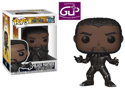 POP, Figura de Vinilo Coleccionable, Marvel, Black Panther, Nº273