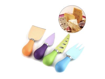 Juego de cuchillos de cocina de 4 piezas, colorido, buen agarre, alta calidad