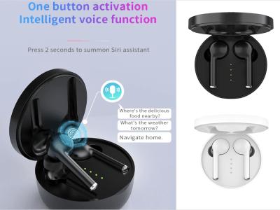 Auriculares Inalámbricos Originales TW40 TWS, Bluetooth 5.0 + EDR, Impermeable IPX5, Cancelación Ruido, Tiempo Uso 4-8 horas, Compatible Android y IOS