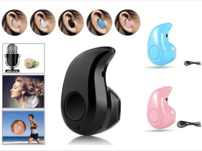 Auriculares Inalámbricos S530 TWS, Bluetooth 4.0, Impermeable IPX5, Cancelación Ruido, Tiempo Uso 4-6 horas, Estéreo, Deporte, Gaming, Compatible Android y IOS
