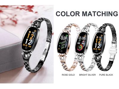Reloj Inteligente Femenino de Lujo, Compatible IOS y Android, Rastreador de Fitness Deportivo, Monitor de Ritmo Cardíaco, Presión Arterial, Pulsera Inteligente para mujeres