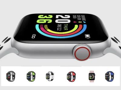 Reloj Inteligente Apto Hombres y Mujeres, Compatible IOS y Android, Ritmo Cardíaco, Presión Arterial, Reloj Deportivo, Pulsera Fitness, Resistente al Agua