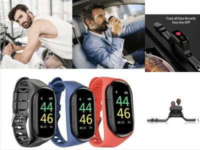 Reloj Inteligente con Auriculares Bluetooth incorporados. Ideal para Mujeres y Hombres, Pulsera deportiva, Bluetooth 5.0, Compatible Android y IOS, Monitor de Presión Arterial y mucho más