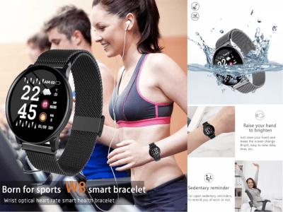Reloj inteligente, Controla Actividad de Presión Arterial, Ritmo Cardíaco, Monitoriza tu Actividad Deportiva, Monitor de Oxígeno en Sangre, y mucho más, Compatible con Android y IOS