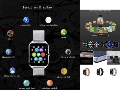 Reloj Inteligente, Teléfono, Pantalla Táctil, Bluetooth, Tarjeta SIM, Cámara 3MP, GPS, MP3, Email, Compatible Android y IOS, Fitness, Mensajes, Impermeable, Llamadas manos libres, muchas más funciones