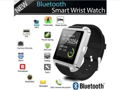 Reloj Inteligente Llamadas teléfono, Pantalla OLED, Bluetooth, Controla Actividad Deportiva, Email MP3, Compatible Android y IOS, Mensajes, Alarmas, Manos Libres, Calendario, Fitness