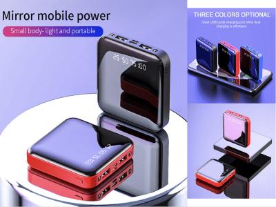 Batería Portátil Universal 2.1A, Carga Ultra Rápida, Pantalla LED, 20000mAh, Cargador Portátil LED, Ultrafino, Incluye Linterna, Batería Litio, Varios Colores, No te quedes sin batería nunca