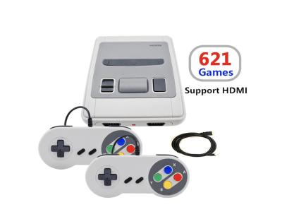 621 Juegos Infancia Retro, 4K TV AV, Consola de videojuegos de 8 bits, HDMI, Reproductor de juegos portátil con 2 mandos para jugar en compañía