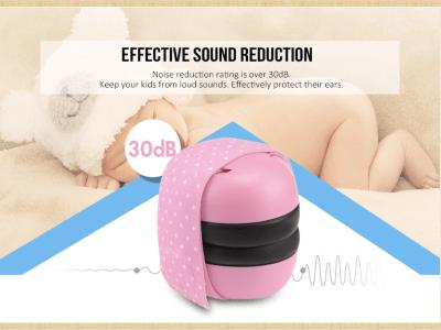 Protección auditiva para bebés para recién nacidos y bebés hasta 36 meses, orejeras reducción de ruido para niños pequeños, cómodas orejeras para bebés, evitan daños en la audición y mejoran el sueño