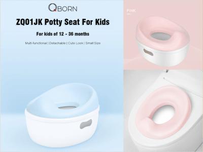 Orinal 3 en 1 para viajes, asiento de inodoro compacto y portátil, silla de inodoro para entrenamiento con orinal más taburete para niños (base del orinal)