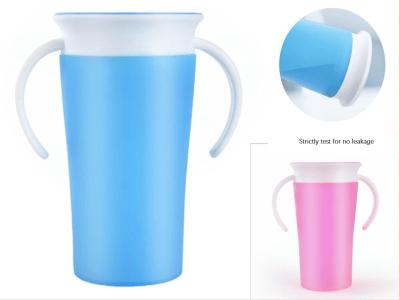 Taza de borde inteligente 360º sin derrames, taza de aprendizaje para niños de beber sin ensuciar