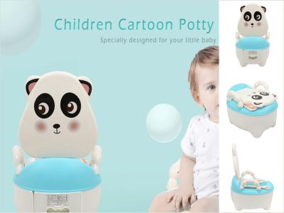 Asiento de inodoro de entrenamiento para orinal, portátil de dibujos animados para bebés y niños, inodoro para niños pequeños, cómodo asiento blando, Artefacto de entrenamiento para inodoro