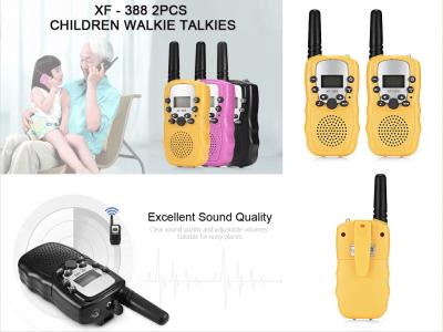 Walkie Talkies para niños, 22 canales, radio bidireccional de hasta 3 KM / 2 millas, interfono de mano de largo alcance, para niños y niñas al aire libre