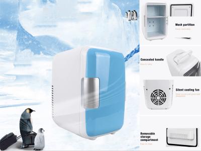 Mini refrigerador termoeléctrico portátil y calentador para alimentos, medicamentos; Hogar y viajes, refrigerador/calentador portátil compacto, refrigerador para dormitorio, oficina, automóvil