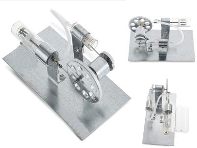 Kit de motor Stirling, modelo de motor, juguete educativo de energía de vapor de bricolaje, modelo de aprendizaje de electricidad