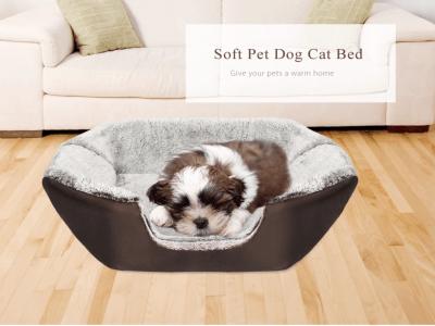 2 en 1. Cama suave para perros y gatos. Un objeto con dos propósitos. Fresco en verano y cálido en invierno. 2 colores disponibles